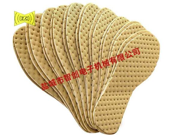 上海鞋垫压花布样