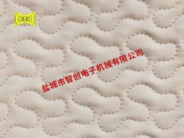 上海超声波压花布样